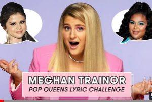 27 March Meghan Trainor doing Pop Queens Lyric Challenge