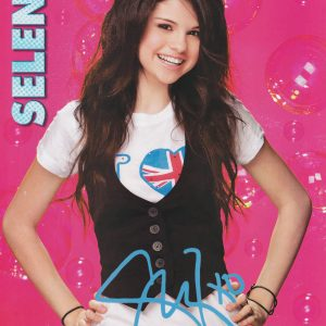 18 April check out UHD poster of Selena from photoshoot for BOP Magazine 2008