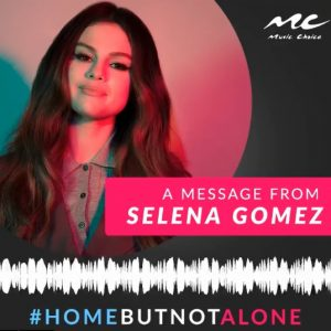 1 April check out new message from Selena for everyone who is in quarantine