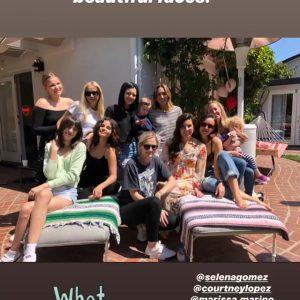 24 May Selena in @amyrosoffdavis's Instagram Story