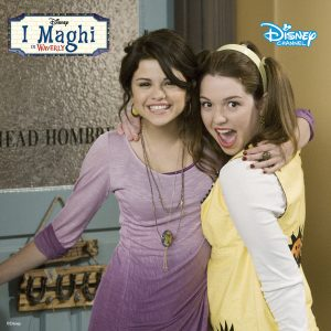 1 May New HQ pic of Alex Russo and Harper Finkle on set of WOWP