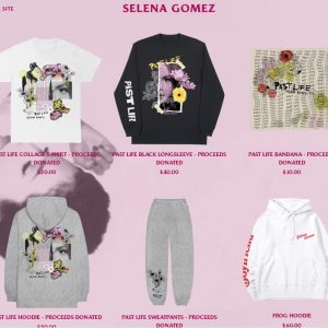 26 June check out new Past Life merch at Selena's official store, all proceeds goes to charity!