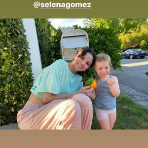 22 July Amy Rosoff Davis wished Happy Birthday to Selena via Instagram Story