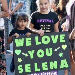 29 July Selena on Instagram Story