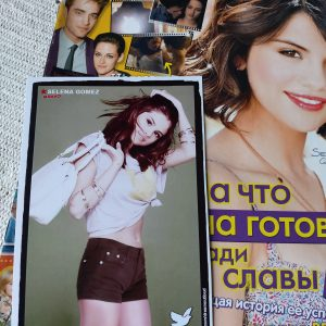 10 July check out new card with Selena from DOL photoshoot placed as a gift at Bravo Magazine