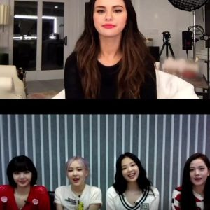 28 August check out messages from Selena and girls from BlackPink