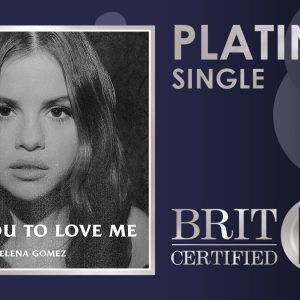 14 August Lose You To Love Me is platinum in the UK