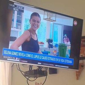24 August Argentinian TV channel shows Selena in local news