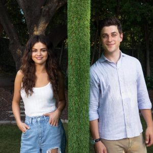 24 August new pic of Selena and David Henrie at This Is The Year film announcement