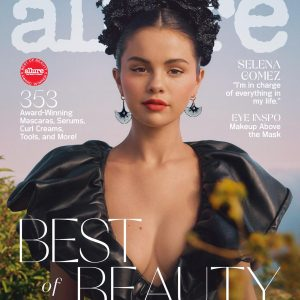 9 September Selena on the cover of October issue of Allure Magazine
