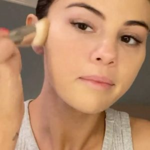 10 September @rarebeauty on Instagram: When applying Liquid Touch Weightless Foundation @selenagomez wanted it to feel like an easeful and effortless process