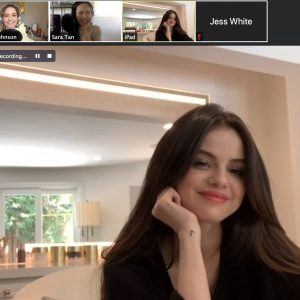 """1 September listen to new pocast by """"Gloss Angeles"""" with Selena about Rare Beauty"""
