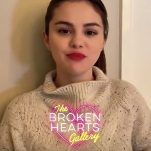 4 September new video of Selena for the premiere of The Broken Hearts Gallery (Updated)