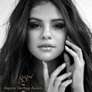 10 September Selena will receive the ARTS Award from The Hispanic Heritage Foundation