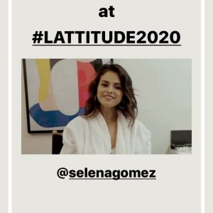 26 September Selena's surprice appearance for L'ATTITUDE