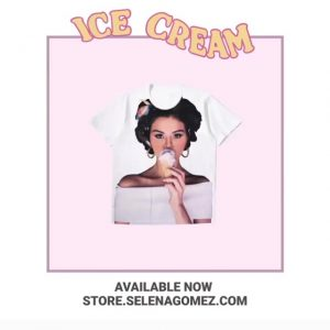 21 September Selena on Twitter: Check out the new Ice Cream merch
