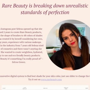 22 September check out our new Rare Beauty promo page