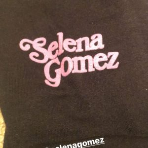 22 October Jack Schlossberg fanboying over Selena Gomez x When We All Vote official merchandise