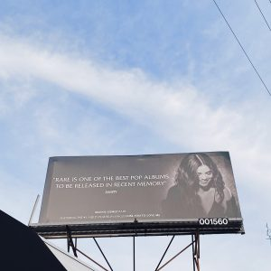 5 October Lose You To Love Me for your consideration at GRAMMY's 2020 billboard spotted in Los Angeles