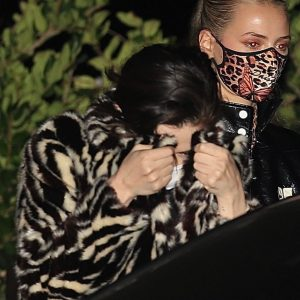 26 October Selena spotted at the friend's birthday party in Los Angeles, CA.