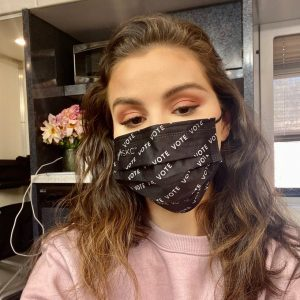 29 October Serena responded with a cuttest selfie to the Dylan O'Brien's I #MaskUp challenge!