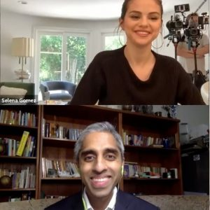 10 October @RareBeauty on IGTV: Mental Health Social Summit: @selenagomez x @drvivekmurthy