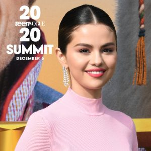 11 November Selena is going to be a keynote speaker at the#TeenVogueSummit