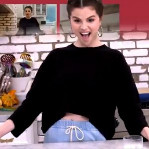 18 November Selena on Twitter: Never cooked a turkey before this special episode of #SelenaAndChef