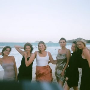 14 November new pic of Selena with friends this January in Hawaii