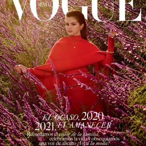 30 November Selena on the cover of December issue of Vogue Mexico