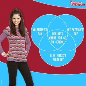 15 December @disneyinthd on Instagram: Petition to declare Alex Russo's birthday as a Holiday from now on!