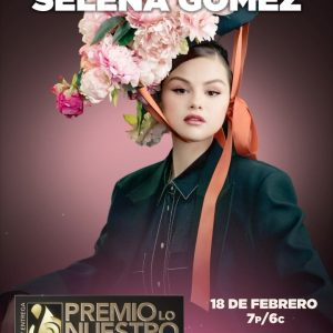16 February @premiolonuestro on Instagram: Just in two days we will see the special performance of @selenagomez