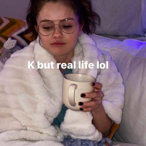 16 February Selena on Instagram story