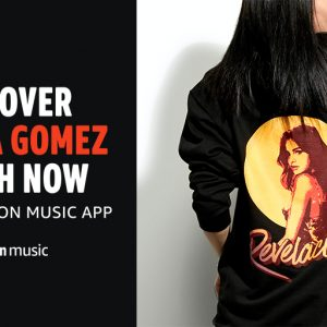 10 March Selena on Twitter: So excited that my exclusive line of #AmazonMusicMerch