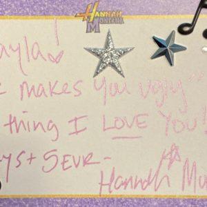 24 March Hannah Montana tweeted to Selena