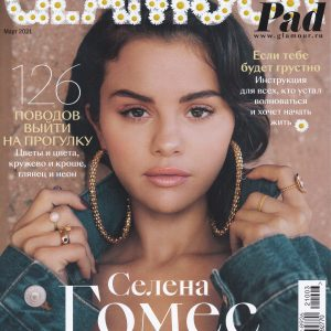 6 March check out HD scans of Glamour Russia with Selena on the cover!