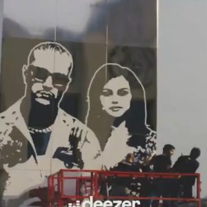 17 March check out the video from the making of Selfish Love billboard in Paris