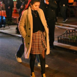 "30 March new candids and videos of Selena from set of ""Only Murders In The Buildng"" in New York"