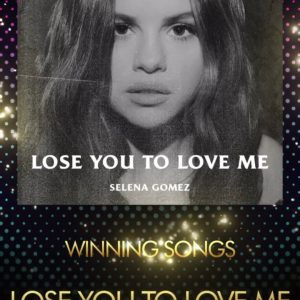 13 April Lose You To Love Me wins at ASCAP Pop Music Awards
