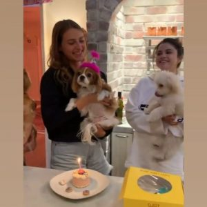 7 May check out new video of Selena from 2019 from Anna Collins's puppy birthday