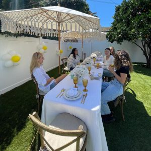 7 September: @paigeyreed on Instagram: @zoebrenneke planned the most beautiful yummy brunch