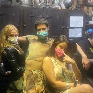 14 September: Selena with friends in Las Vegas tonight!